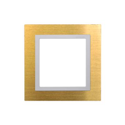 Khung viền kim loại Gold -48