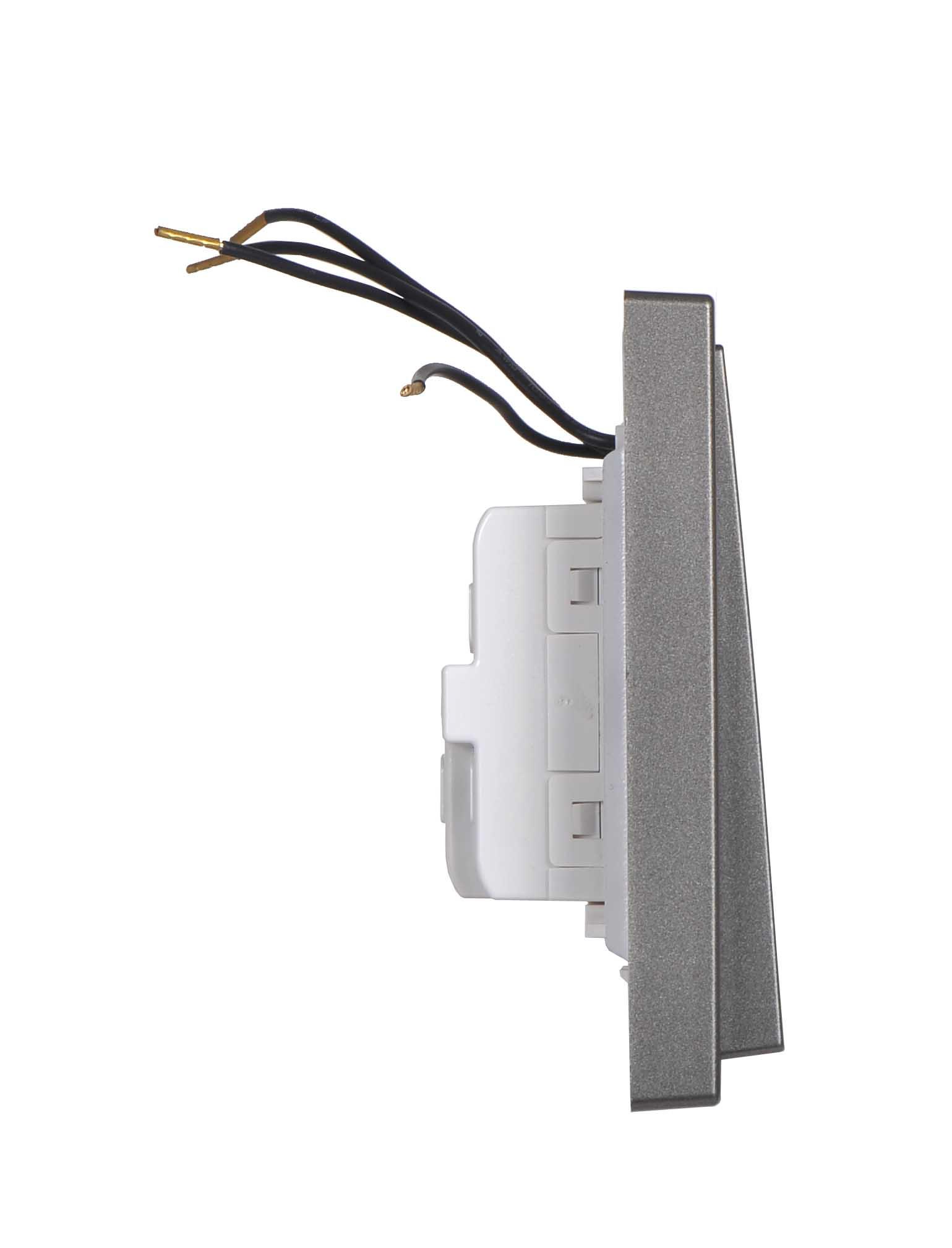 Module công tắc đôi, hai chiều có đèn LED 701024