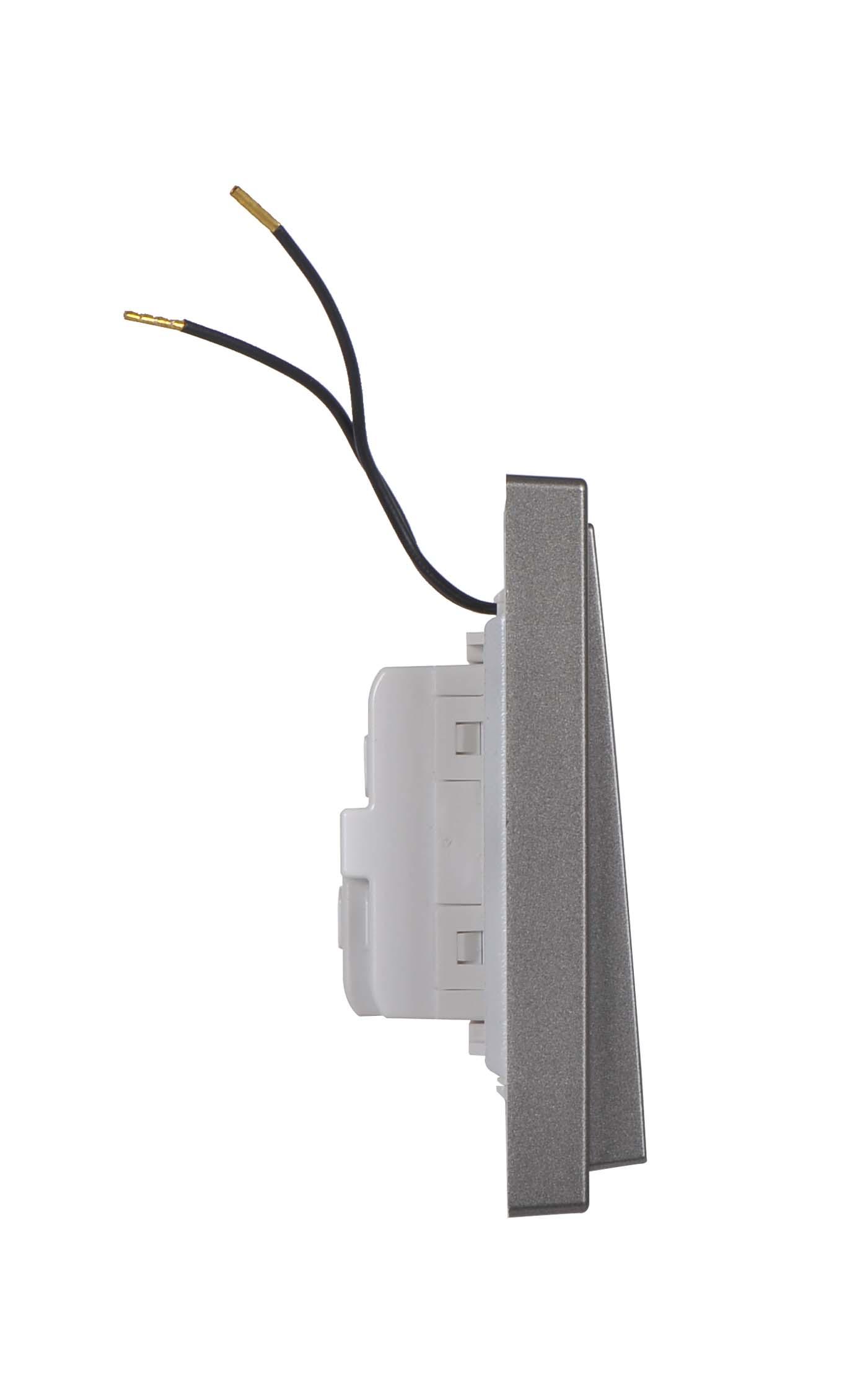 Module công tắc đơn, hai chiều có đèn LED 701014