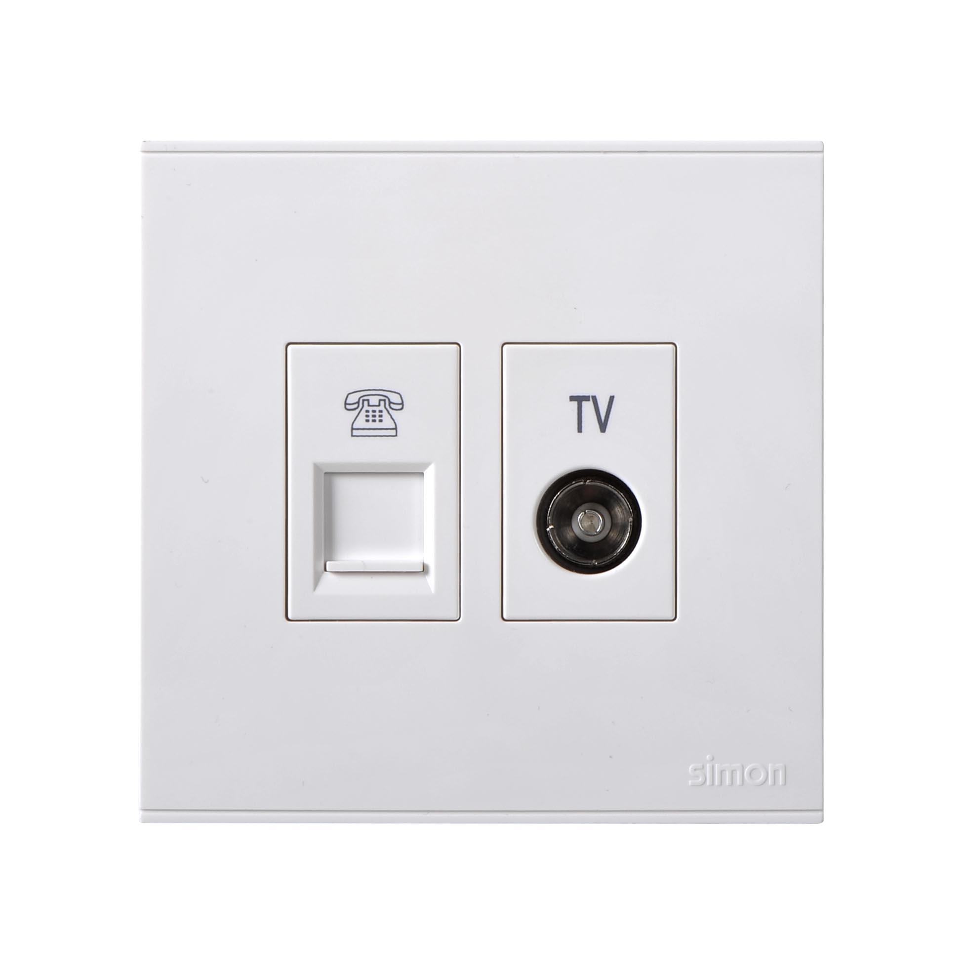 Module ổ cắm TV và điện thoại 725301