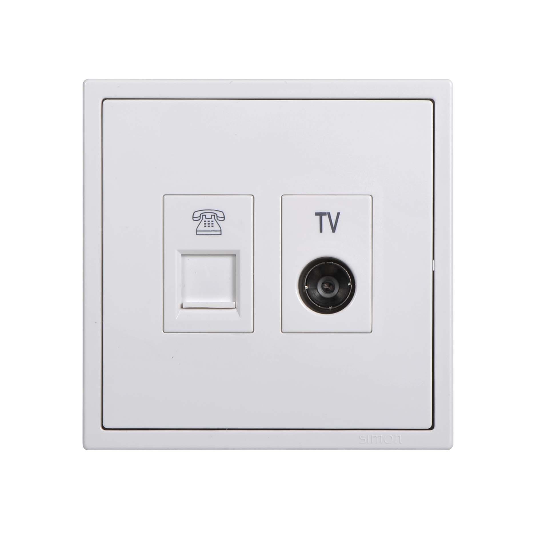 Module ổ cắm TV và điện thoại 705301