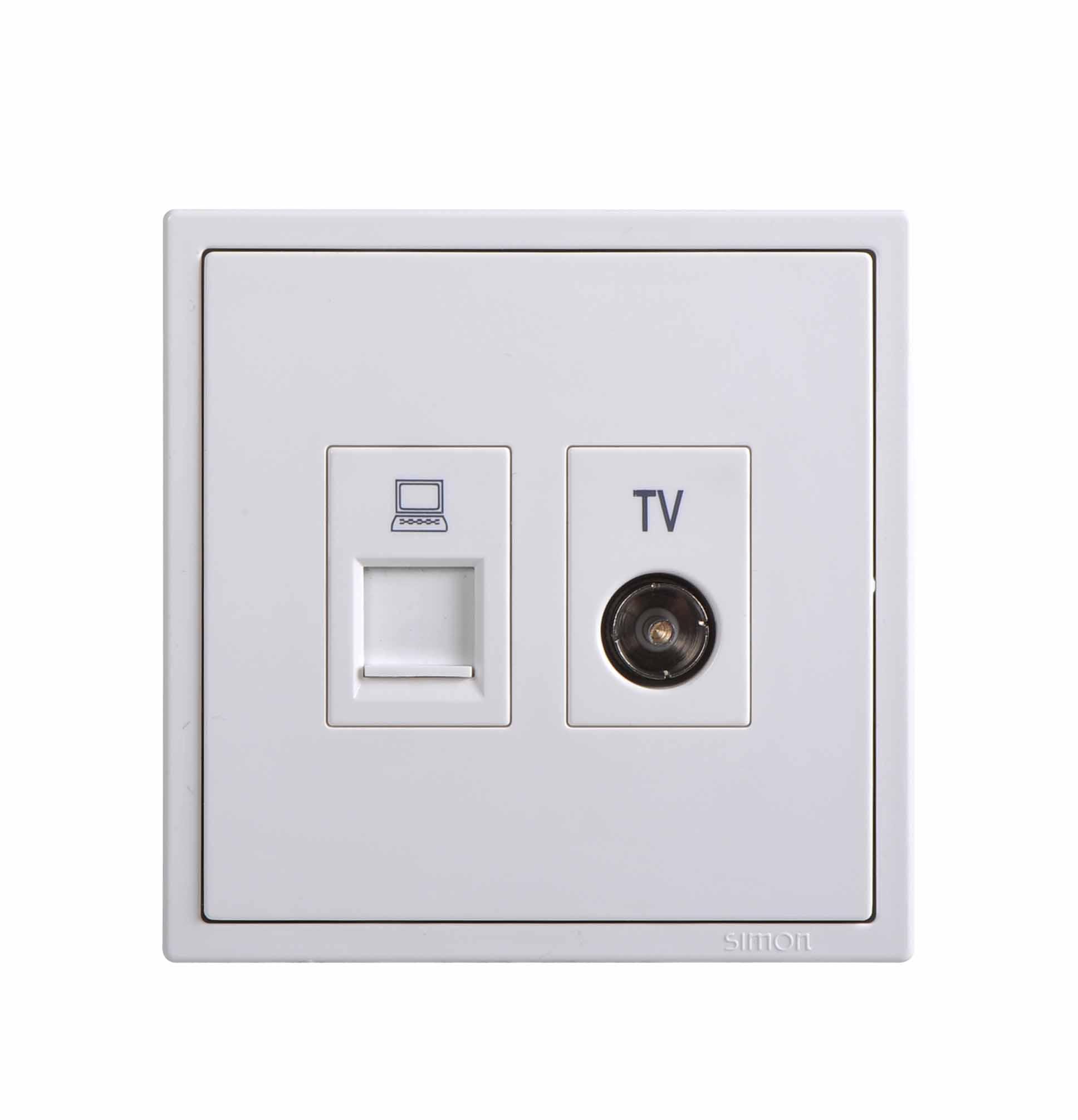 Module ổ cắm TV và dữ liệu Cat6 705602